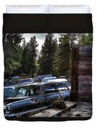 Wrecking Yard Study 22 Duvet Cover