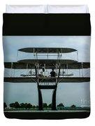 Wright Flyer Memorial Dayton Duvet Cover