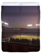 Wrigley Field At Dusk 2 Duvet Cover