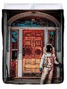 Wrong Address Duvet Cover by Bob Orsillo