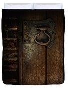 Wrought Iron Door Latch Duvet Cover