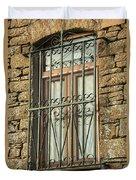 Wrought Iron - Glass - Stone Duvet Cover