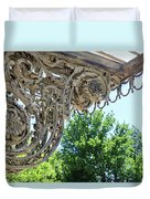 Wrought Iron Scroll Duvet Cover