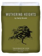 Wuthering Heights Greatest Books Ever Series 017 Duvet Cover