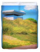 Ww II Fortification Duvet Cover