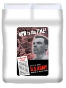 Ww2 Army Recruiting Poster Duvet Cover