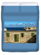 Ww2 Fortification Door Duvet Cover