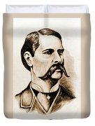 Wyatt Earp Duvet Cover