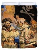 Wyeth: Treasure Island Duvet Cover