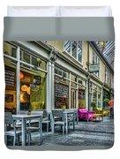 Wyndham Arcade Cafe 3 Duvet Cover