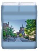 Wynn Commons - University Of Pennsylvania Duvet Cover