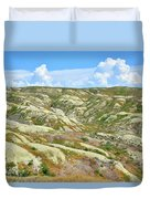 Wyoming Badlands Duvet Cover