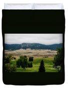 Wyoming Landscape 51a Duvet Cover