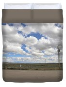 Wyoming Pet Area Duvet Cover