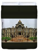 Wyoming State Capital Building  Duvet Cover