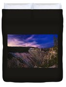 Wyoming Sunset Duvet Cover