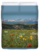 Wyoming's Winds Duvet Cover
