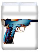 X-ray Art Of Walther P38 No.2 Duvet Cover