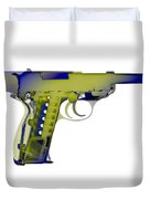 X-ray Art Of Walther P38 No.5 Duvet Cover