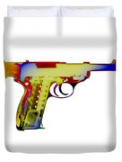 X-ray Art Of Walther P38 Duvet Cover