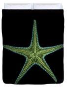 X-ray Of Starfish Duvet Cover