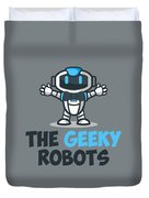 Xero The Robot Duvet Cover