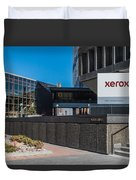 Xerox Tower Entrance Duvet Cover