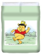 Xi The Pooh Duvet Cover