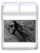 Xian Bike Lines Duvet Cover
