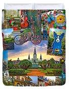 Ya Gotta Love New Orleans 2 Duvet Cover