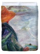 Yachats Painter Duvet Cover