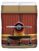 Yale And Hangar - 2018 Christopher Buff, Www.aviationbuff.com Duvet Cover