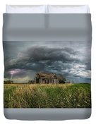 Yale Supercell Pano  Duvet Cover