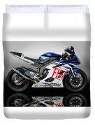 Yamaha Rossi Rep Duvet Cover