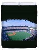 Yankee Stadium Ny Yankees V. Tampa Duvet Cover