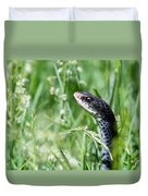 Yard Snake Duvet Cover