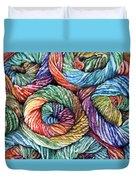 Yarn Duvet Cover by Nadi Spencer