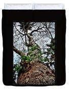 Ye Ole Tree At Chichen Itza Duvet Cover