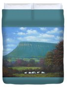 Yeats Country With Benbulben Duvet Cover