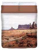 Yei Bi Chei And Totem Pole Formation Duvet Cover