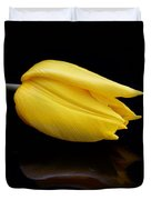 Yellow And Black Duvet Cover