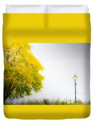 Yellow And Golden Duvet Cover