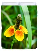 Yellow And Orange Clasping Coneflower Duvet Cover