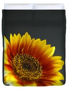 Yellow And Orange Gerber Duvet Cover