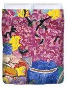 Fleur De Vessel Duvet Cover