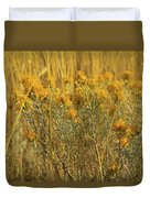 Yellow Autumn Blooming Duvet Cover