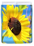 Yellow Beauty  Duvet Cover