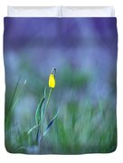 Yellow Bells Duvet Cover