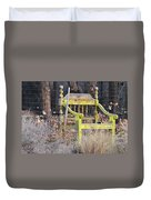 Yellow Bench Duvet Cover