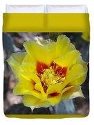 Yellow Blossom Duvet Cover